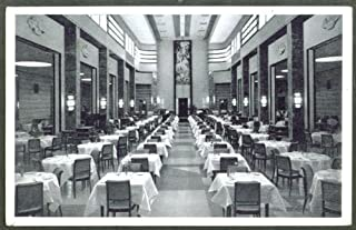 9th Floor Dining T Eaton Store Montreal PQ postcard 1930s