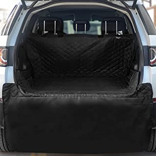 NPET Cargo Liner for SUV, Washable Waterproof Pet Car Seat Cover for Dogs Universal Fit Mat Protector with Bumper Flap