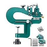 S SMAUTOP Máquina de pelado de cuero para manualidades profesionales Máquina de pelado de bordes Máquina divisora de cuero manual con cuchillas para los materiales de cuero más comunes en el mercado