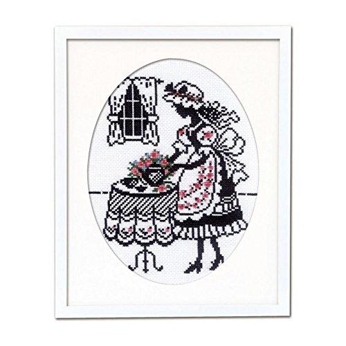 オリムパス クロスステッチ刺繍キット オノエ・メグミ 赤毛のアンの物語 7456 お茶の時間 [刺しゅうキット ししゅう 初心者