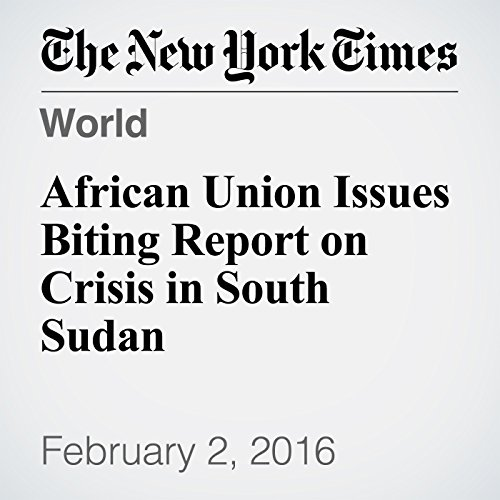 『African Union Issues Biting Report on Crisis in South Sudan』のカバーアート