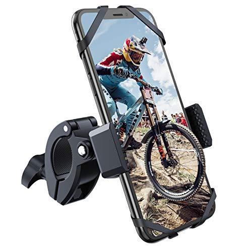 YOSH Fahrrad Handyhalterung Universal Handyhalter fürs Fahrrad Motorrad Halterung mit 360° drehbare für alle 3,5-6,7 Zoll Handy und iPhone 12Pro/11/X/7/6 Samsung S9/S8/S7/S6/S5 Huawei und GPS