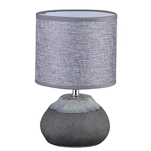 Lámpara de mesa de noche lámpara de mesa simple romántico dormitorio Oficina Lámpara de cabecera Lámpara de mesa moderna minimalista de piedra inteligente Pequeño Tabla dormitorio de la lámpara contem