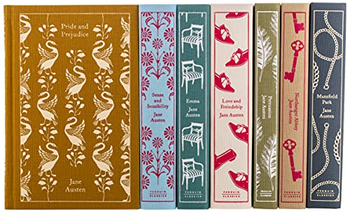 Jane Austen: The Complete Works 7-Book Boxed Set: Sense and Sensibility; Pride and Prejudice; Mansfield Park; Emma; Northanger Abbey; Persuasion; Love ... (Penguin Classics hardcover boxed set)