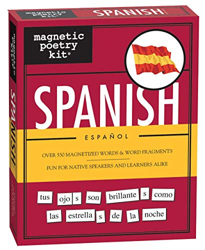 Spanish Kit (Magnetic Poetry)