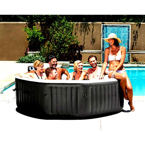 Hot Tub Spas 6 Person Portable Inflatable Spa Now $898.95 (Was $1,795.99)