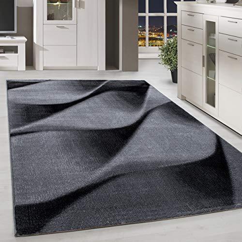 HomebyHome Moderner Design Teppich Schnecke Teppich Kurzflor Wohnzimmer versc. Größen, Größe:120x170 cm