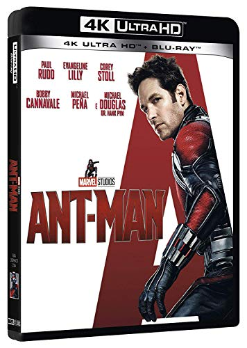 Ant-Man 4K (2 Blu Ray)