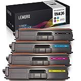 LEMERO (not brother-oem) TN436 toner cartridges 4 pack