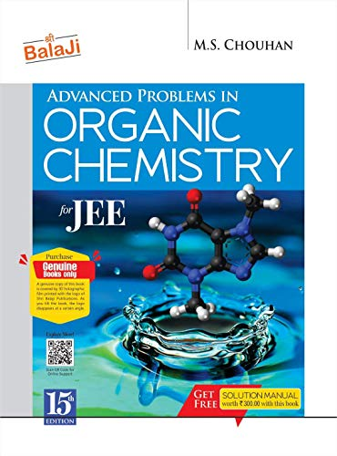 Advanced Problems in Organic Chemistry for JEE - 15/e, 2021-22 Session