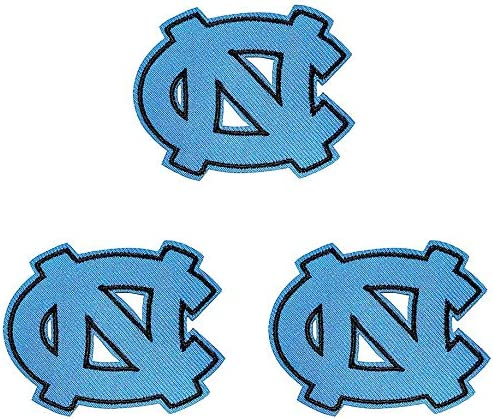 North Carolina Tar Heels Embroidered Iron On Sew On Patch for Jackets Backpacks Jeans and Clothes product image