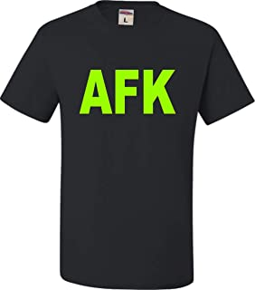 Go All Out Adult Away from Keyboard AFK Funny Gamer PC Gaming T-Shirt