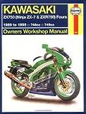 Haynes Kawasaki, ZX750 Ninjas ZX7 and ZXR 750 1989-1995 (Haynes Manuals) by Haynes (1999-01-15)