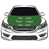 Custom Flag Car Hood Cover 3.3X5FT 100% Polyester,Elastic Fabrics Can be Washed,Car Bonnet Banner