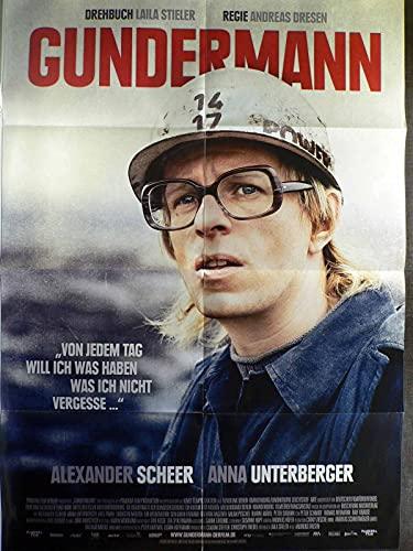 G&ermann - Alexander Scheer, Anna Unterberger - Filmposter A1 84x60cm gefaltet