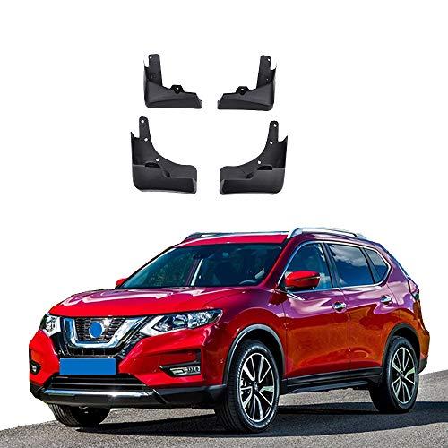 GJPSXTY 4 Uds Guardabarros para Nissan X-Trail Rouge 2014-2019, Guardabarros Moldeados, Guardabarros para Coche, Guardabarros Delantero Y Trasero