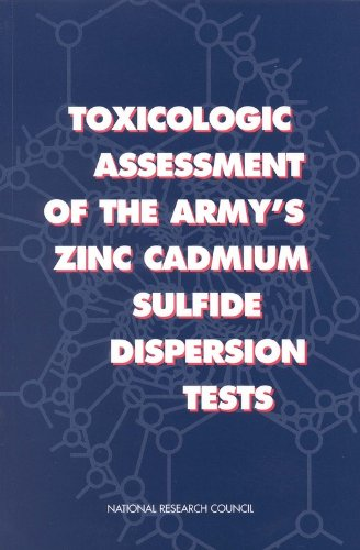 Toxicologic Assessment of the Army\'s Zinc Cadmium Sulfide Dispersion Tests