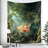 Tapiz de estilo nórdico colgante de pared decoración del arte del hogar tapiz decoración bohemia pared hippie manta tela colgante A3 180x200cm