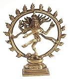 Berk FI-036 Shiva - Figura Decorativa, diseño del Dios hindú Shiva, 16,5 cm
