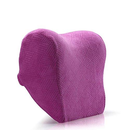 uus Coussin de tête pour voiture Coussin de voiture Coussin pour espace Coussin de tête en coton Coussin d'oreiller Coussin en forme de goutte d'eau ( Couleur : Violet )