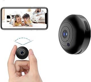 Mini Hidden-Camera WiFi-Spy Camera Wireless 1080P, Oucam Small Spy Cam Nanny Cam with Audio and Video Recording Micro Surv...