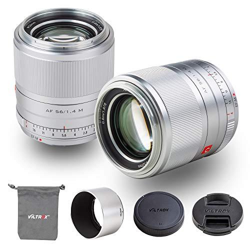 Viltrox 56mm F1.4 STM Prime Autofocus APC-S Obiettivo Ritratto Lavoro per Canon EOS M-Mount Telecamere M10 M100 M200 M3 M5 M50 M6 M6Ⅱ