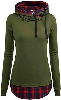 Sudaderas Casual Camisas Mujeres Sudadera con Capucha de Manga Larga con Estampade Blusa Jerseys Pullover Tops Femeninas p...