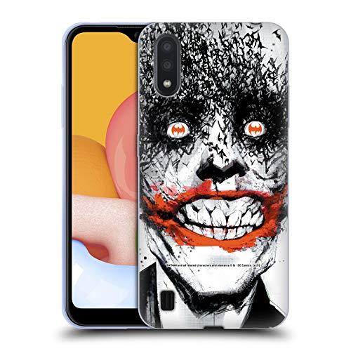 Head Case Designs Licenza Ufficiale Batman DC Comics Joker Detective Comics 880 Copertine di Libri Comici Famosi Cover in Morbido Gel Compatibile con Samsung Galaxy A01 (2020)