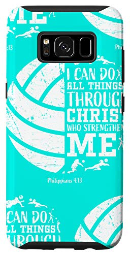 Galaxy S8 Volleyball Phone Cases Christian Verse Gifts Cute Teen Girls Case