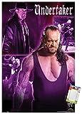 Trends International Poster Mount WWE - The Undertaker, 22.375' x 34', Premium Poster & Mount Bundle
