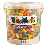 PlayMais BÁSICO 1000 Mosaicos para niños, Multicolor (11820)