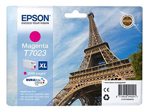 Epson WorkForce Pro WP-4535 DWF (T7023 / C 13 T 70234010) - original - Ink cartridge magenta - 2.000 Pages - 21,3ml