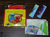 ユニバーサルスタジオジャパン/USJ セサミストリート バッグ&ボールペン ウッディー・ウッドペッカー ボールペン セット お土産袋おまけ