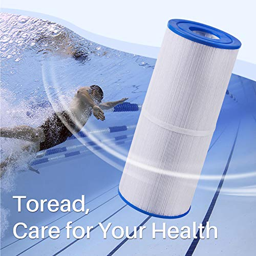 TOREAD Spa Replacement Filter for Pleatco PRB50-IN, Unicel C-4950, Guardian 413-212-02, Filbur FC-2390, 373045, 03FIL1600, 17-2380, Jacuzzi J200 Series Filter, 5X13 Drop in Hot Tub Filter, 1Pack