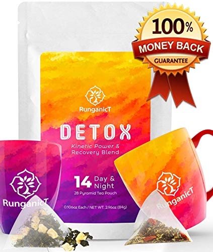 Detox products 14 Days & Nights Detox Tea 28 Teatox teabags – Reduces Bloating Burns Fat