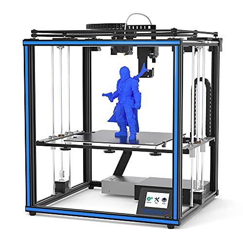 TRONXY 3D Drucker X5SA PRO, Corexy Vollmetallrahmen 3D Printer mit Große Druckgröße 330*330*400mm, Version der Gitterglasplattform+TR Sensor aktualisierte Version der Richtmaschine