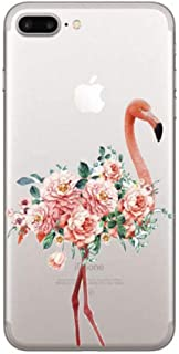 Phone Case Phone Cases Summer Flamingos Love Soft Silicone Clear Case Cover for Apple Iphone 7 6 6S 8 Plus X 5S Se Coque Fundas