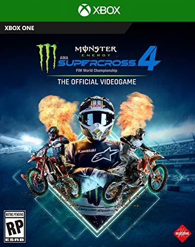 Deep Silver Monster Energy Supercross 4 - Xbox One - Xbox One