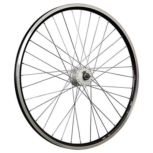 Taylor-Wheels 28 Zoll Vorderrad Laufrad X-Plorer Shimano Nabendynamo DH-C3000-3N schwarz