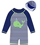 IDGREATIM UV Badebekleidung Baby und Kinder - Baby UV Schutzkleidung - Baby Badeanzug - Einteiliger Schutzkleidung Kleinkind Sonnenanzug UPF50+