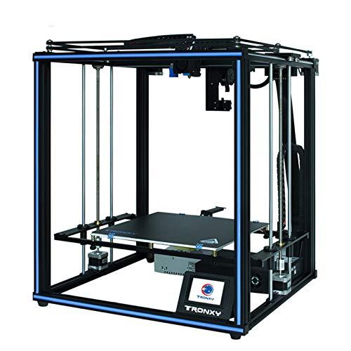 Leeofty X5SA PRO Hochpräziser 3D-Drucker DIY-Kit Selbstmontage Großer Druck Größe 330 * 330 * 400 mm Unterstützung Auto Leveling Filament Rundlauferkennung Ausschalten Fortsetzen Drucken