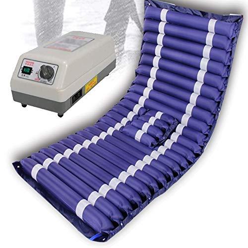 Nicekko Airflow Matras, anti-decubitus-luchtmatras, met compressor, medisch opblaasbaar luchtbed, luchtkussen, verzorgingsbed