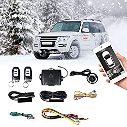 in budget affordable Remote Auto Start PKE Passive Keyless Entry Remote Car Key or One Key Motor Start for Phone Control
