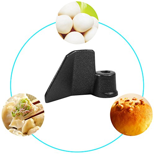 Bread Maker Paddle, Universal Stainless Steel Bread Maker Kneading Blade Part Mixing Paddle Replacement for Breadmaker Machine Black