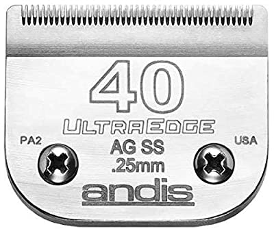 Andis Ultraedge Stainless Steel Number 40 Blade by Andis