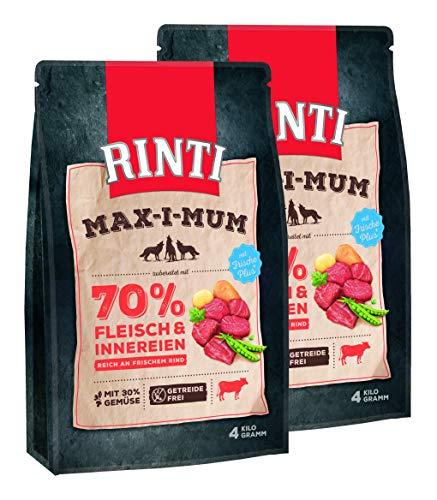 Rinti MAX-I-MUM Rind, 2er Pack (2 x 4 kg)