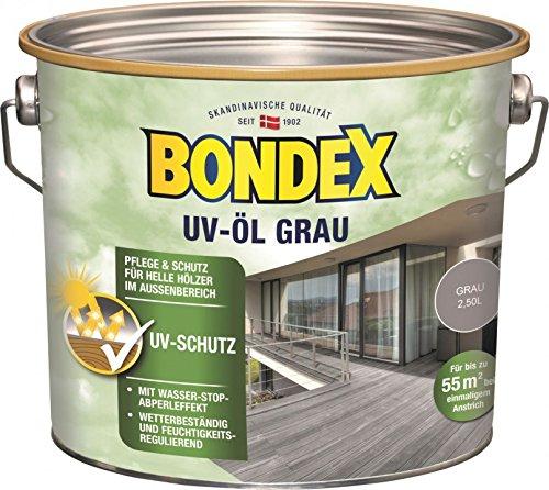 Bondex Holz Öl UV Grau 2,5 l - 377947