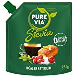 Pure Via Stevia en poudre - Doypack de 250 g - Lot de 2