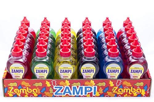 Botellitas Zampi - Golosina Liquida - 36 unidades