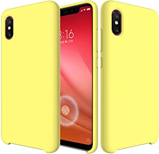 cfb0749bb27 BestST Funda para Xiaomi Mi 8 Pro,Funda Leather Case Xiaomi Mi 8 Pro Carcasa